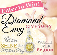 Diamond Envy Giveaway May 13